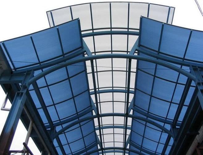 Metacrilato en arquitectura y construcción